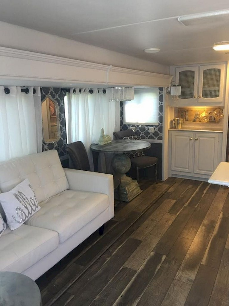 22 Awesome Rv Living Camper Remodel Interior Design Ideas
